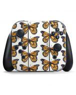 Monarch Butterflies Nintendo Switch Joy Con Controller Skin