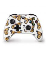 Monarch Butterflies Xbox One S Controller Skin