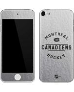 Montreal Canadiens Black Text Apple iPod Skin