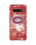 Montreal Canadiens Frozen Galaxy S10 Plus Lite Case