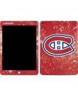 Montreal Canadiens Frozen Apple iPad Skin