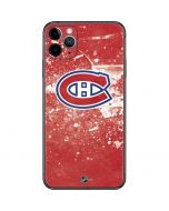 Montreal Canadiens Frozen iPhone 11 Pro Max Skin