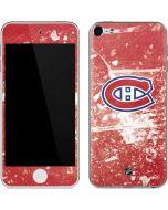 Montreal Canadiens Frozen Apple iPod Skin