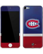 Montreal Canadiens Jersey Apple iPod Skin