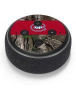 Montreal Canadiens Realtree Xtra Camo Amazon Echo Dot Skin