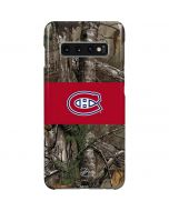 Montreal Canadiens Realtree Xtra Camo Galaxy S10 Plus Lite Case