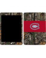 Montreal Canadiens Realtree Xtra Camo Apple iPad Skin