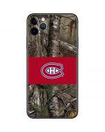 Montreal Canadiens Realtree Xtra Camo iPhone 11 Pro Max Skin