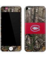 Montreal Canadiens Realtree Xtra Camo Apple iPod Skin