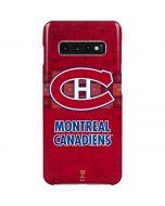 Montreal Canadiens Vintage Galaxy S10 Plus Lite Case