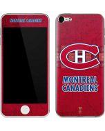 Montreal Canadiens Vintage Apple iPod Skin