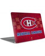 Montreal Canadiens Vintage Apple MacBook Air Skin