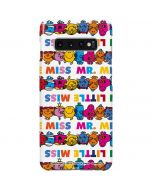 Mr Men Little Miss Characters Bold Galaxy S10 Plus Lite Case