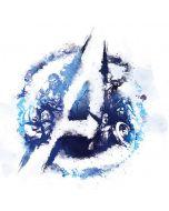 Avengers Blue Logo Wii U (Console + 1 Controller) Skin