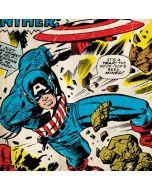 Captain America Rooftop Explosion Apple iPod Skin