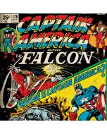 Captain America And Falcon LG K51/Q51 Clear Case