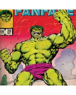 Hulk Marvel Fanfare Apple iPod Skin