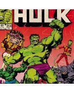 Marvel Comics Hulk Dell XPS Skin