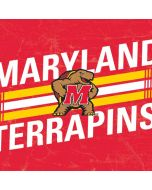 Maryland Terrapins Stripes Yoga 910 2-in-1 14in Touch-Screen Skin