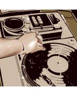 DJ Spinning iPhone X Waterproof Case
