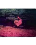 Rustic Musical Heart Apple iPod Skin