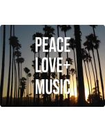 Peace Love And Music Apple iPod Skin