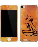 Mufasa Water Color Apple iPod Skin
