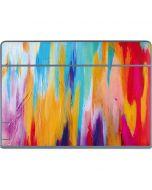 Multicolor Brush Stroke Galaxy Book Keyboard Folio 12in Skin
