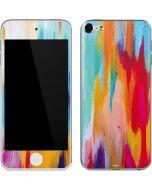 Multicolor Brush Stroke Apple iPod Skin