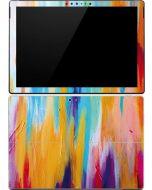 Multicolor Brush Stroke Surface Pro (2017) Skin