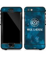 Music is Medicine LifeProof Nuud iPhone Skin
