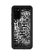 Music Pattern Galaxy S20 Waterproof Case