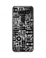 Music Pattern LG K51/Q51 Clear Case