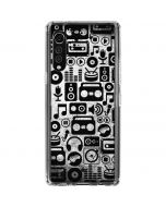 Music Pattern LG Velvet Clear Case