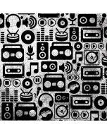 Music Pattern Apple iPod Skin