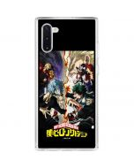 My Hero Academia Battle Galaxy Note 10 Clear Case