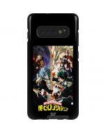 My Hero Academia Battle Galaxy S10 Plus Pro Case