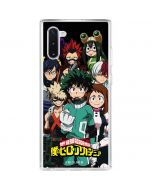 My Hero Academia Galaxy Note 10 Clear Case