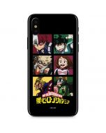 My Hero Academia Group iPhone X Skin