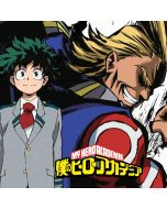 All Might and Deku Xbox One X Console Skin