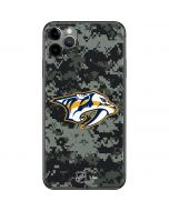 Nashville Predators Camo iPhone 11 Pro Max Skin