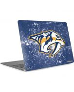 Nashville Predators Frozen Apple MacBook Air Skin