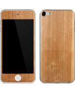 Natural Wood Apple iPod Skin
