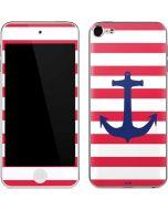 Nautical Stripes Apple iPod Skin