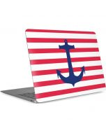 Nautical Stripes Apple MacBook Air Skin