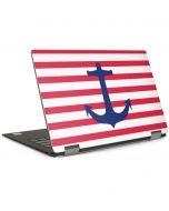 Nautical Stripes Dell XPS Skin