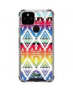 Navajo Pattern by Jorge Oswaldo Google Pixel 5 Clear Case