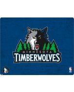 Minnesota Timberwolves Distressed Apple iPod Skin