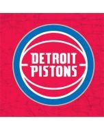 Detroit Pistons Distressed Apple iPod Skin
