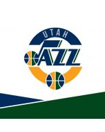 Utah Jazz White Split Yoga 910 2-in-1 14in Touch-Screen Skin